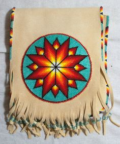 0200 Large Beaded Purse by WoodenIndianCrafts on Etsy, $200.00