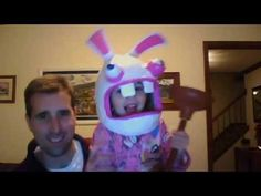 juliannas raving rabbids costume youtube - Raving Rabbids Halloween Costume