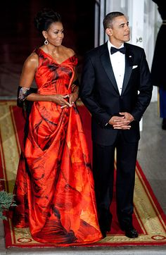 One of my favorite couples! Our POTUS and FLOTUS dazzle us constantly!