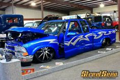 Chevy S10 Custom Chevy Trucks, Pickup Trucks, Custom Cars, Lo Rider, Lowrider Trucks, S10 Blazer, Chevy S10, Lowered Trucks, Chevrolet Blazer