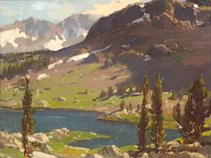 Edgar Payne (1883-1947) 'Tioga Pass' 11 5/8 x 15 1/2in