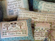 Jane Austen stitching!!!