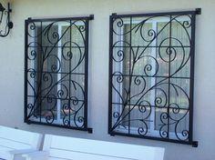 grades ornamentais para janelas