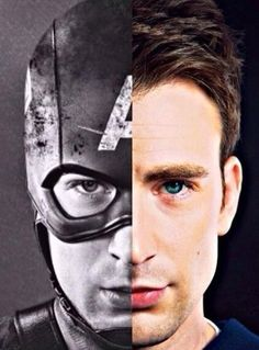 0.5Captain America, 0.5Chris Evans.