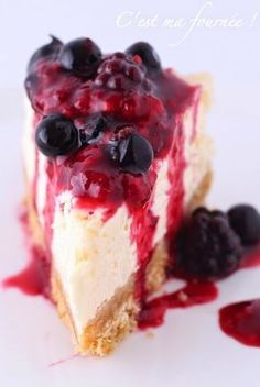 This is my batch: The cheesecake . by Jean-François Piège! Easy Cheesecake Recipes, Cheesecake Bites, Pumpkin Cheesecake, Dessert Recipes, Cheesecake Cake, Desserts With Biscuits, Dessert Aux Fruits, Cooking Chef, Savoury Cake