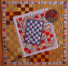 KADENSKY REVISITED WALL HANGING - This Wall Hanging is machine pieced, machine…
