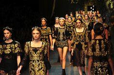 Dolce & Gabbana Baroque Runway Finale