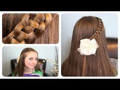 "4-Strand ""Slide-Up"" Braid | Cute Girls Hairstyles"