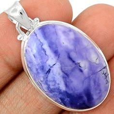 Tiffany Stone 925 Sterling Silver Pendant Jewelry TFNP244 - JJDesignerJewelry