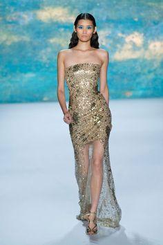Best Spring 2013 Runway Gowns - Monique Lhuillier