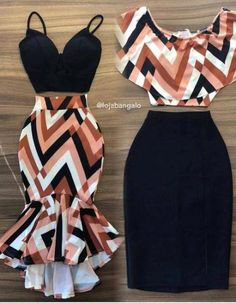 Skirt outfits for work long 36 ideas Cute Casual Outfits, Chic Outfits, Fashion Outfits, Work Outfits, Latest African Fashion Dresses, African Print Fashion, Look Fashion, Girl Fashion, Fashion Styles