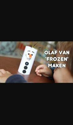 Olaf maken! Voor peuters en kleuters.