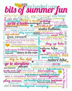 101 summer fun