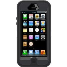 OtterBox Defender Series Case for iPhone 5 - Retail Packaging - Black Best Iphone, Apple Iphone 5, Perfume, Iphone 5 Cases, Great Christmas Gifts, Retail Packaging, Apple Products, Cool Gadgets, Computer Accessories