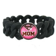 Mom Bracelet, Bracelet For Mom, Mother's Day Bracelet, Mother's Day Gift, Super Mom Bracelet, Jewelry For Mom, Mom, Gift For Mom