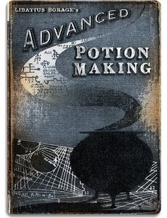 Advanced Potion Making - Metal Wall Sign Plaque - Harry Potter Inspired Wall Art