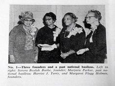 Alpha Kappa Alpha Sorority, Inc. #1964# North Atlantic Regional Conference #3 Founders, Sorors Beulah Burke, Harriet J. Terry and Margaret Flagg Holmes