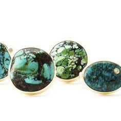 Jamie Joseph rings - Caribbean vibes #turquoise #dreaming #jjpowerring