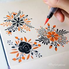 Inspiring floral sketches - it's a fantastic idea for beginners, or just to 'war. - Carola - Inspiring floral sketches – it's a fantastic idea for beginners, or just to 'war… – - Flower Sketches, Art Sketches, Art Drawings, Drawing Drawing, Sketchbook Inspiration, Bullet Journal Inspiration, Journal Ideas, Flower Bouquet Drawing, Drawing Flowers