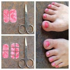 Jamberry Pedicures