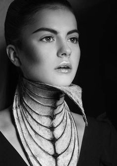 Holy Wow! This is Art! Skeletal Caged Couture - Nika Danielska Designs Sharply Fierce Fashion Accessories (GALLERY)