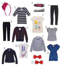 Über Chic for Cheap: Reader Request: Girls Back to School Clothes
