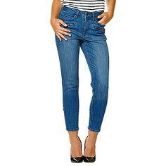 Dannii Minogue Petites 7/8 Skinny Leg Jeans - Indigo – Target Australia