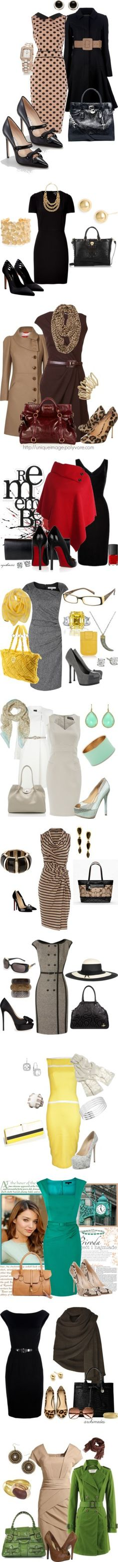 """Dressed For The Day Shift"" by esha2001 on Polyvore"