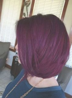 Hair Color Purple Deep Ideas For 2019 Red Hair red purple hair Red Purple Hair, Violet Hair Colors, Deep Burgundy Hair Color, Hot Hair Colors, Deep Purple, Hair Color Auburn, Auburn Hair, Pelo Color Borgoña, Red Color