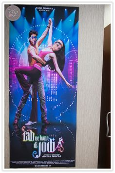 Bollywood posters photoshopped with the bride and groom