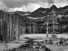 Ansel Adams Mt. Ansel Adams, Lyell Fork Yosemite