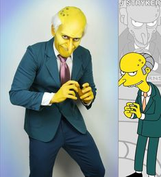 Mr. Burns cosplay