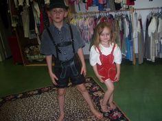 my lederhosen kids