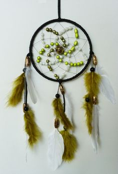 °Dreamcatcher: Green & Gold // by Vendelboe