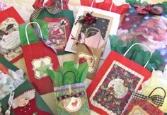 Holiday gift bags...