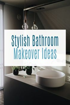 Stylish Bathroom Makeover Ideas - simple hacks and DIY and decor ideas to make your bathroom look amazing and give it the upgrade it deserves. #bathroom #bathroommakeover #bathroomdecor bathroomdesign Beautiful Space, Beautiful Homes, Illuminated Mirrors, Beautiful Bathrooms, Simple House, Easy Projects, Bathroom Interior, Design Trends, Easy Diy