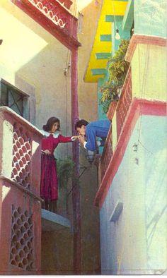 Kiss in El Callejon del Beso.