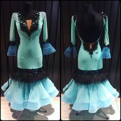 "494 Likes, 1 Comments - DLK_United Design (@dlk_united_design) on Instagram: ""Lovely, soft and warm ballroom dress created by DLK United Design 💙 #dlk_united_design…"""