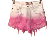 high-waisted-shorts-pinkshorts-cut-offs-cutoff-pink-high-waisted-short-wheretoget-4iqte4qe