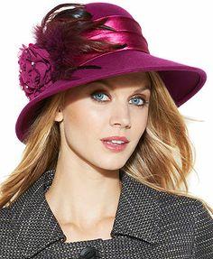 August Hat, Evangeline Medium Brim Felt Hat