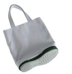 sole bag: minimalistic grey hand bag  accessories& bags . Accessoires& Taschen . accessoires & sacs  Design: plus minus zero  