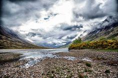 Nieuw in mijn Werk aan de Muur shop: Loch Etive / Glen Etive  (Highlands) Scotland
