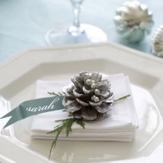 Here is a cool roundup of winter wedding decor ideas in silver and white colors. Enjoy! (via bespoke-bride)