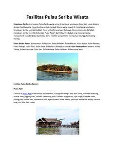 Fasilitas Pulau Seribu Wisata