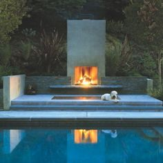 Contemporary Outdoor Fireplace Design Basic 3 On Living Room Simple Home Design