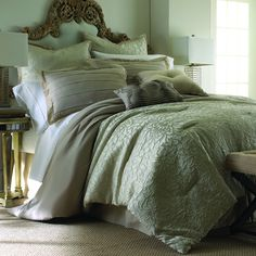 A stunning embroidered floral motif adds rich texture to this Samantha taupe bedding, designed with eight pieces to give your bedroom a new look. Chic and unique, this comforter set is crafted with comfortable and machine washable microfiber polyester.