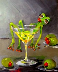 Leap Year Frog -- Delilah Smith http://www.pinterest.com/lshiryaeva/%D0%BB%D1%8F%D0%B3%D1%83%D1%88%D0%BA%D0%B8/