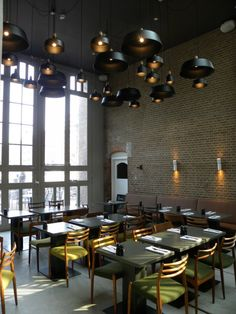 Hotel De Hallen restaurant