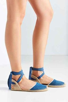 Soludos Classic Vintage Denim Sandal - Urban Outfitters
