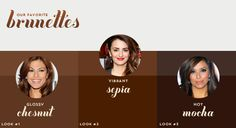Hair Color Ideas for brunettes :: Loleeshop
